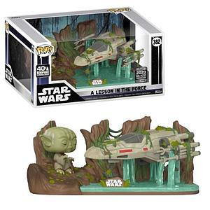 Pop! Star Wars Vinyl Bobble-Head A Lesson in the Force #382 2020 Galactic Convention Exclusive