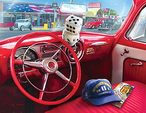 SUNSOUT Puzzle 1000 Piece American Car (37133)