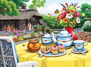 SUNSOUT Puzzle 1000 Piece Honey and Tea (63088)