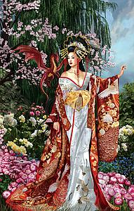 SUNSOUT Puzzle 1000 Piece Sekkerastoya: Queen of Silk (67648)