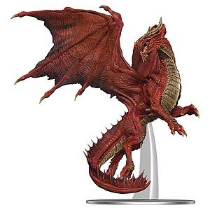 Dungeons & Dragons Icons of the Realms: Premium Set - Adult Red Dragon