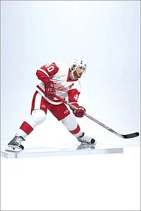 NHL Sportspicks Series 14 Henrik Zetterberg (Detroit Red Wings) White Jersey