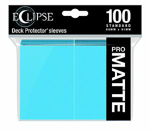 Eclipse Pro Matte: Sky Blue Standard Card Sleeves (66mm x 91mm)