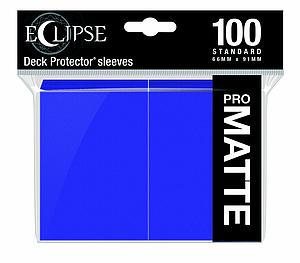 Eclipse Pro Matte: Royal Purple Standard Card Sleeves (66mm x 91mm)