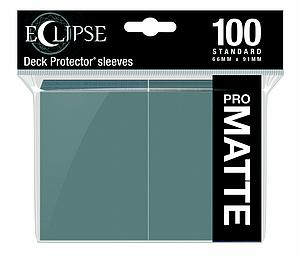 Eclipse Pro Matte: Smoke Grey Standard Card Sleeves (66mm x 91mm)
