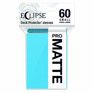 Eclipse Pro Matte: Sky Blue Small Card Sleeves (62mm x 89mm)