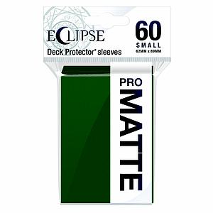 Eclipse Pro Matte: Forest Green Small Card Sleeves