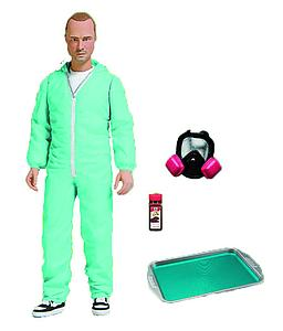 "Toys Breaking Bad 6"": Jesse Pinkman Exclusive Blue Hazmat Suit"