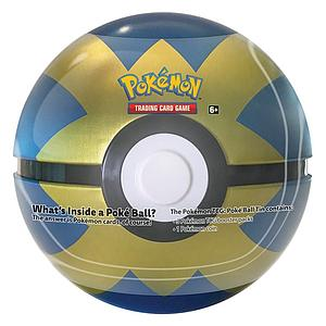 Pokemon Trading Card Game: Poke Ball Quick Ball Tin (2020)