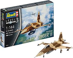 Revell Germany 1:144 Scale Model Kit Northrop F5E Tiger II (03947)