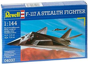 Revell Germany 1:144 Scale Model Kit F-117 A Stealth Fighter (04037)