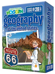 Professor Noggin Geography of the US #28