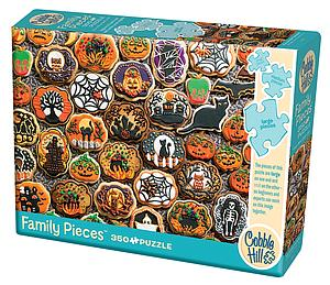 Puzzle: Halloween Cookies (Family) (54612)