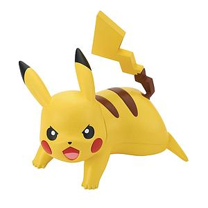 Pokemon Model Kit Quick!!: #03 Pikachu (Battle Pose)