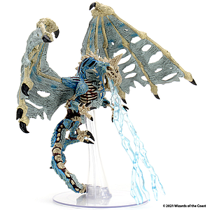 Dungeons & Dragons Icons of the Realms: Boneyard Premium Set - Adult Blue Dracolich