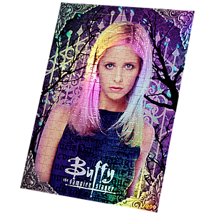 Jasco 240 Piece Foil Puzzle Buffy the Vampire Slayer Collector's Limited Edition