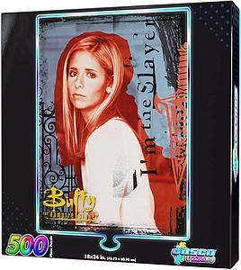 Jasco 500 Piece Foil Puzzle Buffy the Vampire Slayer - Slayer