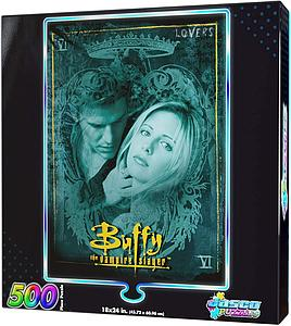 Jasco 500 Piece Foil Puzzle Buffy the Vampire Slayer - Lovers