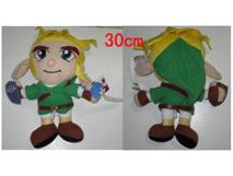 "Plush Toy Nintendo 12"" Link with nose"