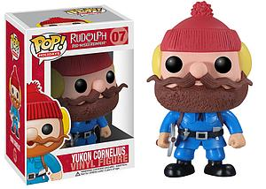Pop! Holidays Rudolph the Red-Nosed Reindeer Vinyl Figure Yukon Cornelius #07 (Retired)