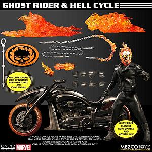 One:12 Ghost Rider & Hell Cycle Set