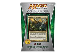 Magic the Gathering: Commander 2013 - Nature of the Beast Deck