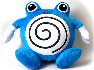 "Pokemon Plush Poliwhirl (12"")"