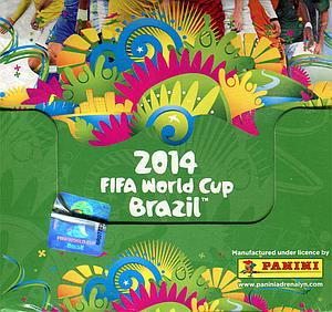 World Cup Soccer Adrenalyn XL Trading Card Game Road to 2014 FIFA Brazil: Booster Box
