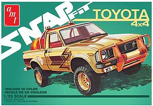 Snap Fit 1980 Toyota Hilux 4x4 Pickup (AMT1114)