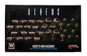 Aliens Unpainted Miniatures: Assets and Hazards