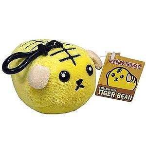 Mameshiba Clip-On Plush: Tiger Bean