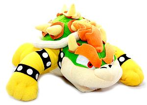 "Mario Bros Plush Bowser Tired (12"")"