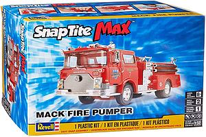 SnapTite Max 1:32 Scale Model Kit Mack Fire Pumper (85-1225)