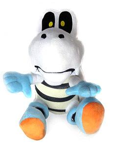 "Super Mario Bros Plush Dry Bones (12"")"