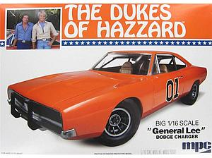 MPC The Dukes of Hazzard Model Kits 1:16 Scale General Lee Dodge Charger