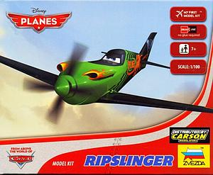 Zvezda Disney Planes 1:100 Scale Model Kit: Ripslinger
