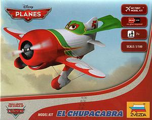 Zvezda Disney Planes 1:100 Scale Model Kit: El Chupacabra