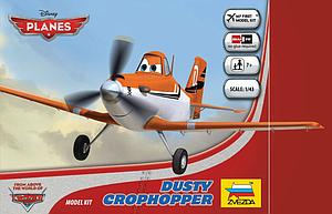 Zvezda Disney Planes 1:100 Scale Model Kit: Dusty Crophopper