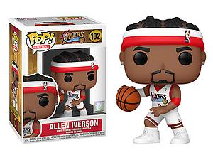 Pop! Basketball NBA Legends Vinyl Figure Allen Iverson #102 (Philadelphia 76ers)