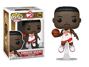 Pop! Basketball NBA Legends Vinyl Figure Dominique Wilkins #104 (Atlanta Hawks)