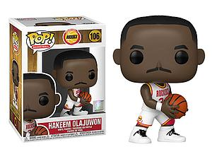 Pop! Basketball NBA Legends Vinyl Figure Hakeem Olajuwon #106 (Houston Rockets)