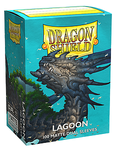 Dragon Shield Sleeves Standard Size: Dual Lagoon Matte
