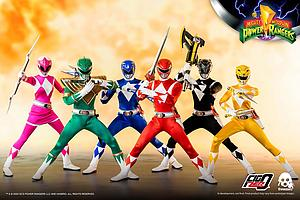 Core Rangers + Green Ranger Six Pack