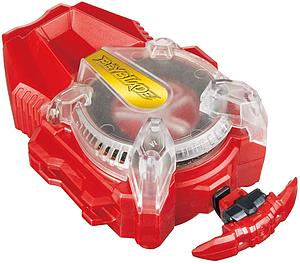 Takara Tomy Beyblade Burst Superking B-165 Superking Bey String Launcher Red