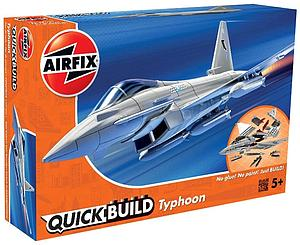 AIRFIX Plastic Model Kit Quick Build Typhoon (J6002)