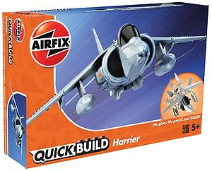 AIRFIX Plastic Model Kit Quick Build Harrier (J6009)