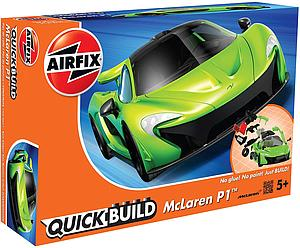 AIRFIX Plastic Model Kit Quick Build McLaren P1 (J6021)