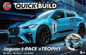 AIRFIX Plastic Model Kit Quick Build Jaguar I-Pace eTrophy (J6033)