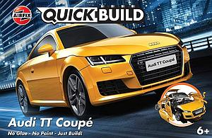 AIRFIX Plastic Model Kit Quick Build Audi TT Coupe (J6034)