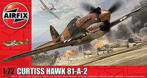 Airfix 1:72 Scale Plastic Model Kit Curtiss Hawk 81-A-2 (A01003)
